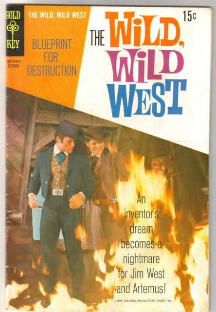 The Wild, Wild West #7 comic book very good 4.0