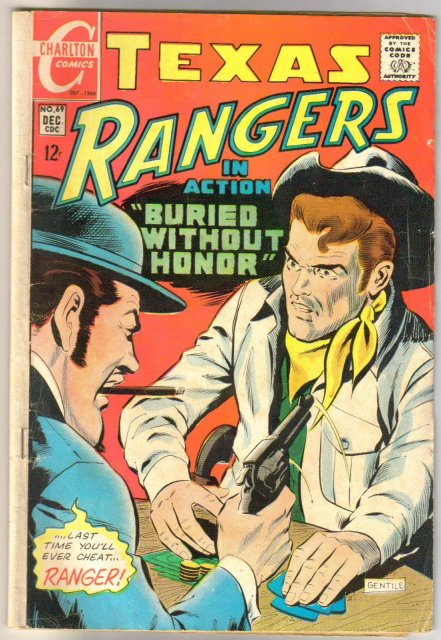 Texas Rangers in Action #69 comic book very good 4.0