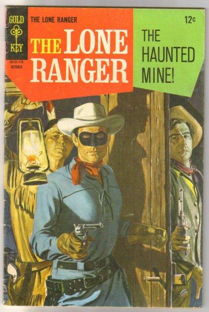 Lone Ranger #8 comic book very good 4.0