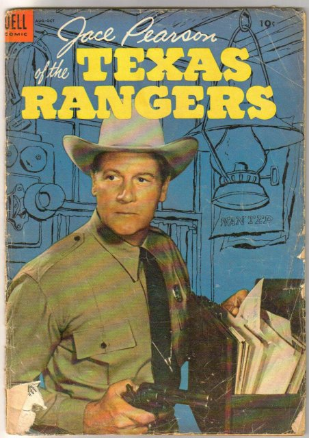 Jace Pearson of the Texas Rangers #7 comic book good 2.0