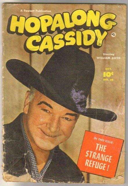 Hopalong Cassidy #60 comic book fair 1.5