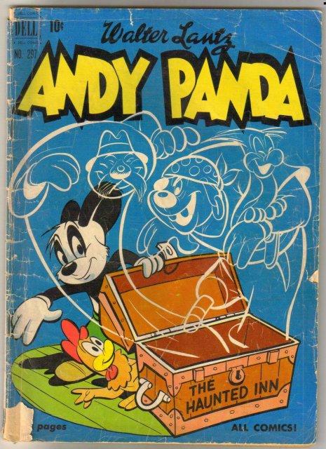Andy Panda #297 comic book good/very good 3.0