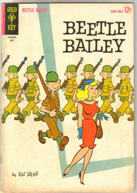 Beetle Bailey #41 comic book very good/fine 5.0