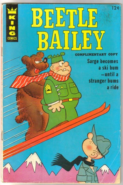 Beetle Bailey #56 comic book very good 4.0