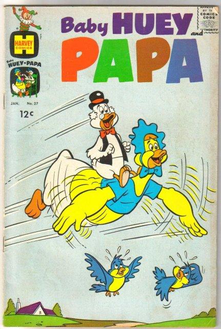 Baby Huey and Papa #27 comic book very good/fine 5.0