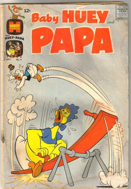 Baby Huey and Papa #3 comic book fair 1.5