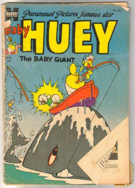 Baby Huey the Baby Giant #10 comic book poor 1.0