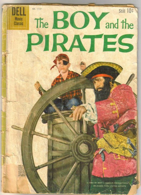 Four Color #1117 The Boy and the Pirates comic book fair 1.5