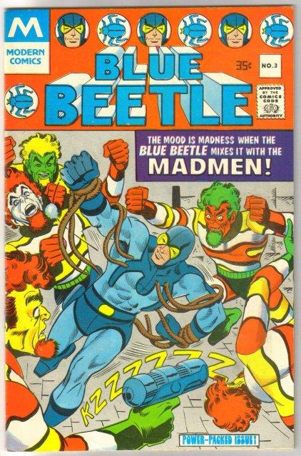 Blue Beetle #3 comic book very fine 8.0