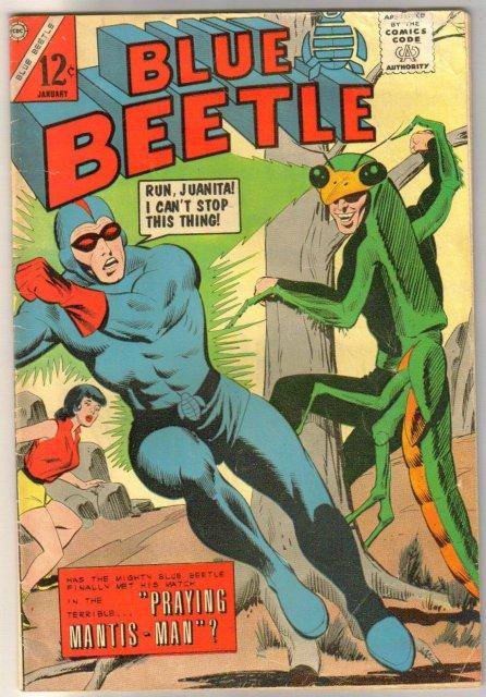Blue Beetle #? comic book very good 4.0