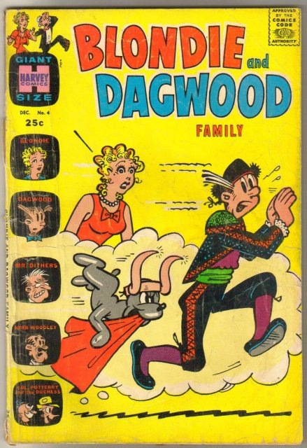 Blondie and Dagwood Family #4 comic book good 2.0