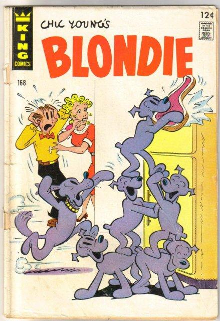 Blondie #168 comic book good/very good 3.0