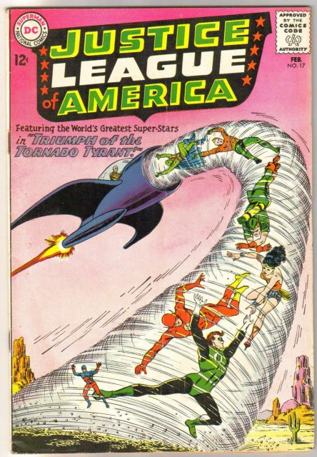 Justice League of America #17 comic book very good/fine 5.0