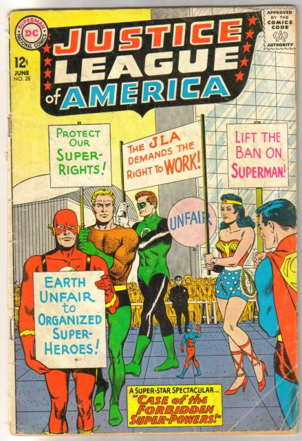 Justice League of America #28 comic book very good 4.0