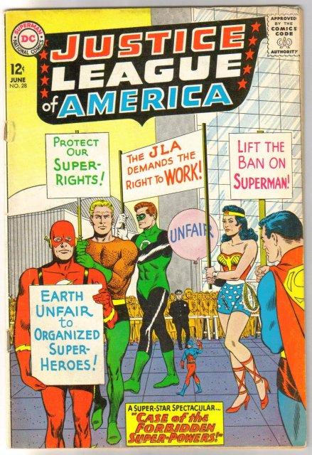 Justice League of America #28 comic book fine 6.0