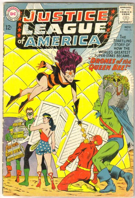 Justice League of America #23 comic book fine but clipped 6.0