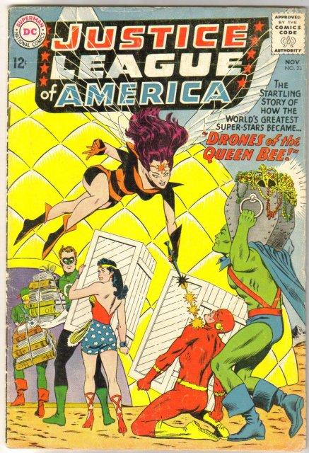 Justice League of America #23 comic book fine 6.0