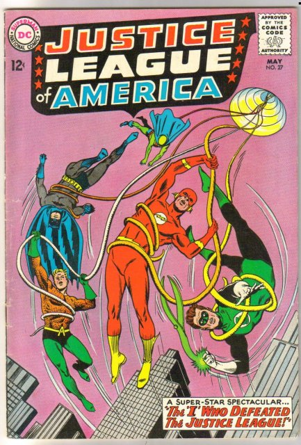 Justice League of America #27 comic book fine plus 6.5