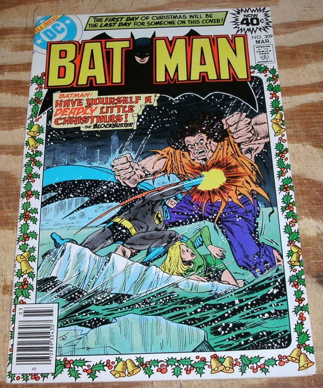 Batman #309 comic book near mint/mint 9.8