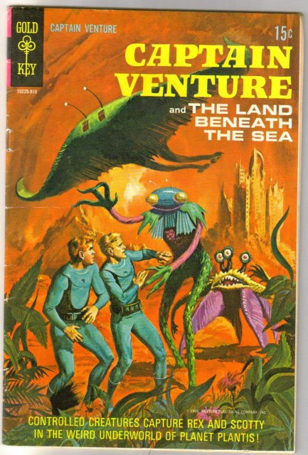 Captain Ventture and the Land Beneath the Sea #2 comic book good/very good 3.0