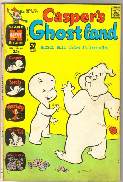 Casper's Ghostland #64 comic book fine 6.0