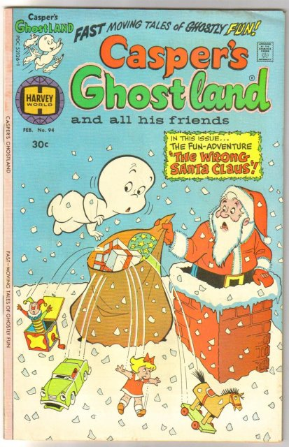 Casper's Ghostland #94 comic book very fine 8.0