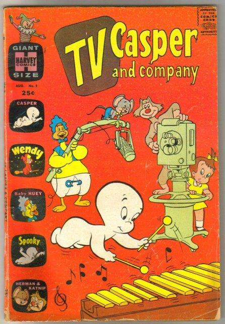 TV Casper and Company #5 comic book fair 1.5