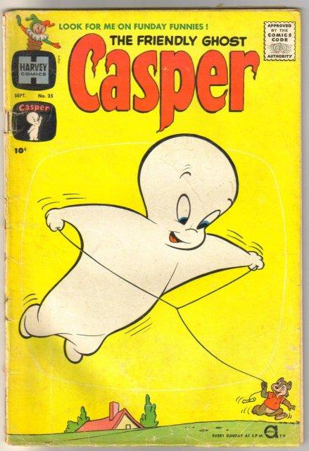 The Friendly Ghost Casper #25 comic book good/very good 3.0