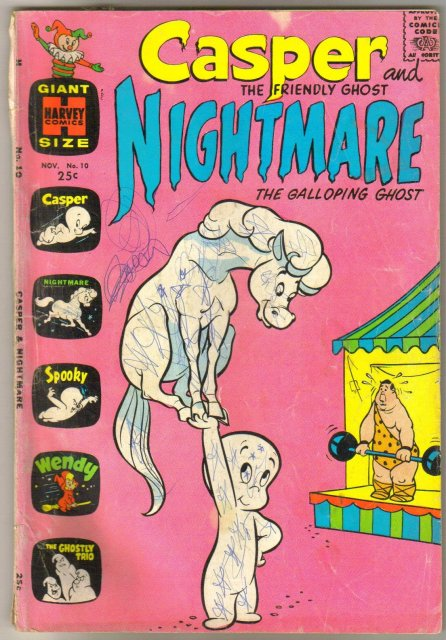 Casper and Nightmare #10 comic book good/very good 3.0