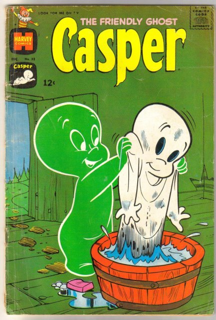 The Friendly Ghost  Casper #52 comic book very good 4.0