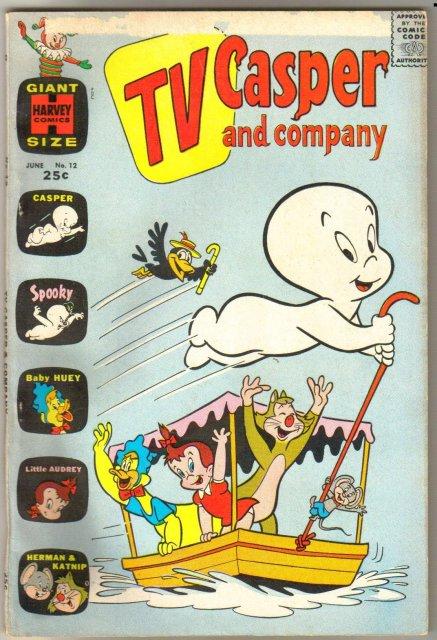 TV Casper and Company #12 comic book very good 4.0