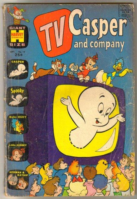 TV Casper and Company #13 comic book very good plus 4.5