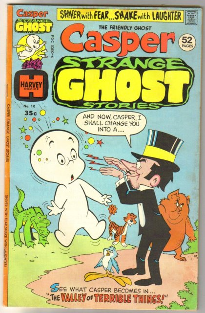 Casper Strange Ghost Stories #10 comic book fine 6.0