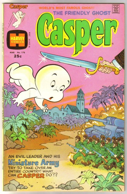 The Friendly Ghost Casper #178 comic book very fine 8.0