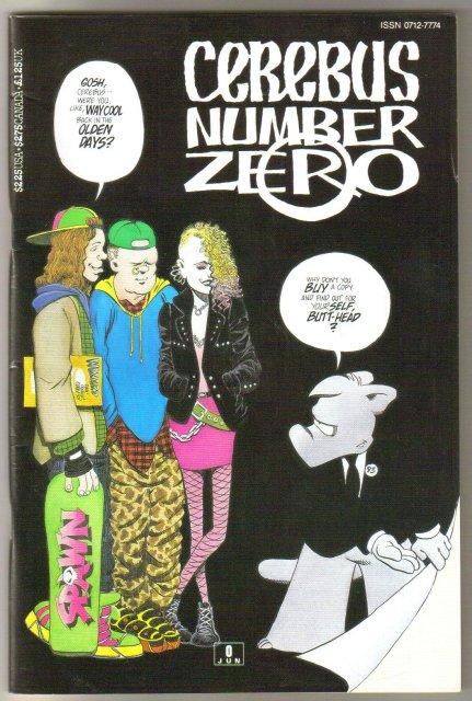 Cerebus #0 2nd print comic book very fine/near mint 9.0