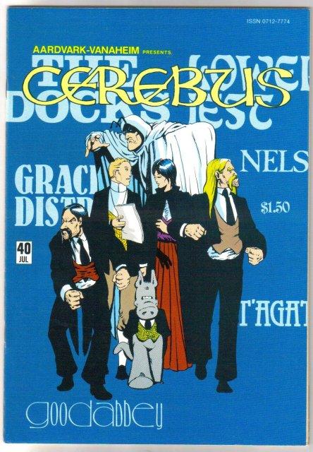 Cerebus #40  comic book near mint 9.4