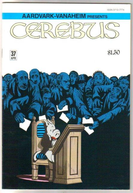 Cerebus #37  comic book near mint 9.4