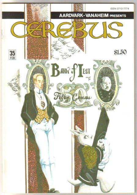 Cerebus #35  comic book near mint 9.4