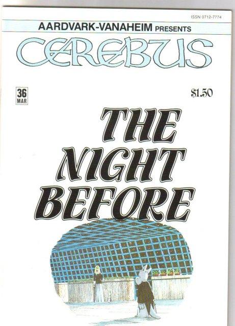 Cerebus #36  comic book mint 9.8