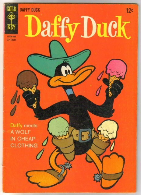Daffy Duck #42 comic book fine 6,0