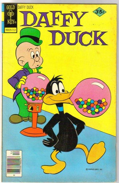 Daffy Duck #112 comic book very fine 8,0