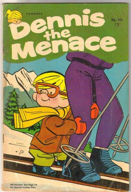 Dennis the Menace #101 comic book good/very good 3.0