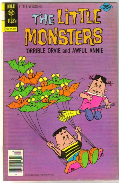 The Little Monsters #43 comic book very fine 8.0