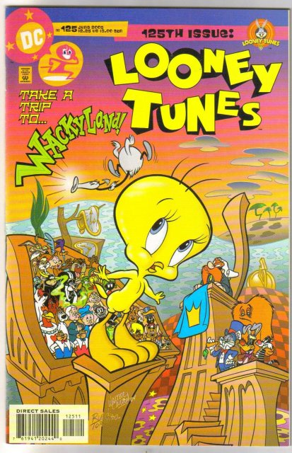 Looney Tunes #125 comic book near mint 9.4