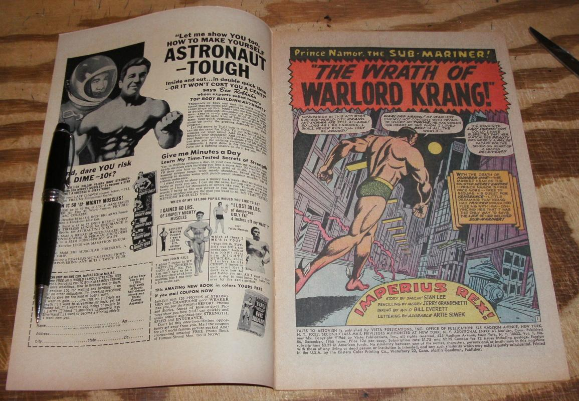 Tales to Astonish #86 very fine plus 8.5