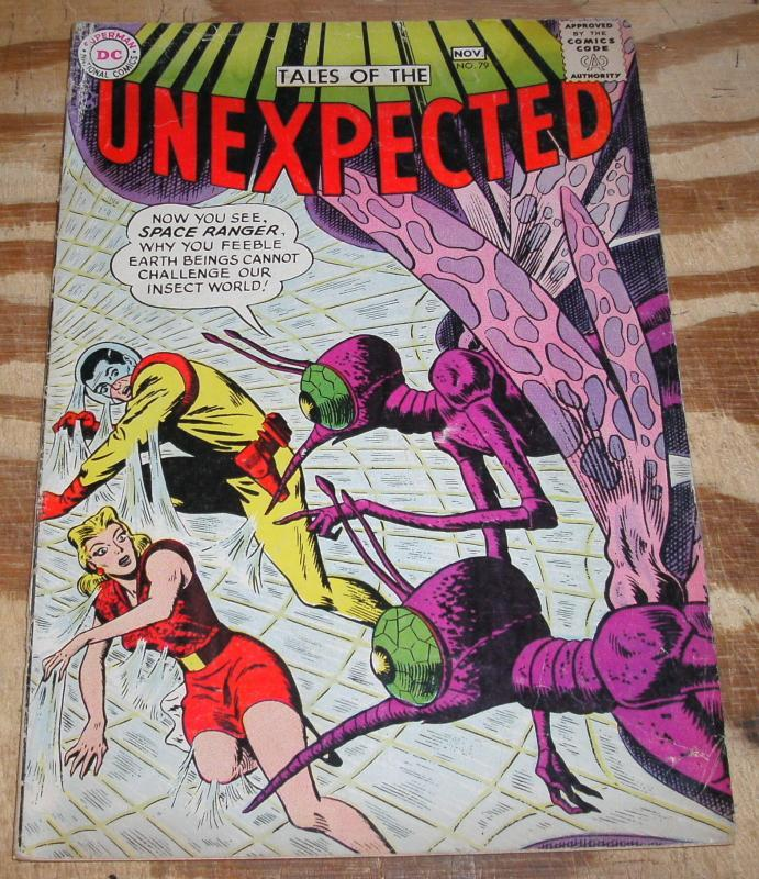 Tales of the Unexpected #79 comic book vg/fn 5.0