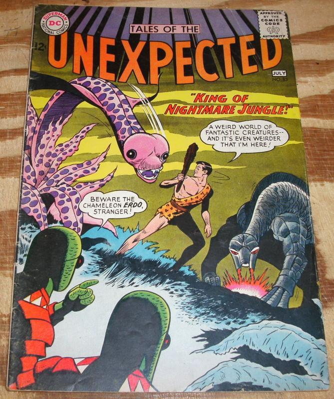 Tales of the Unexpected #83 comic book very good/fine 5.0