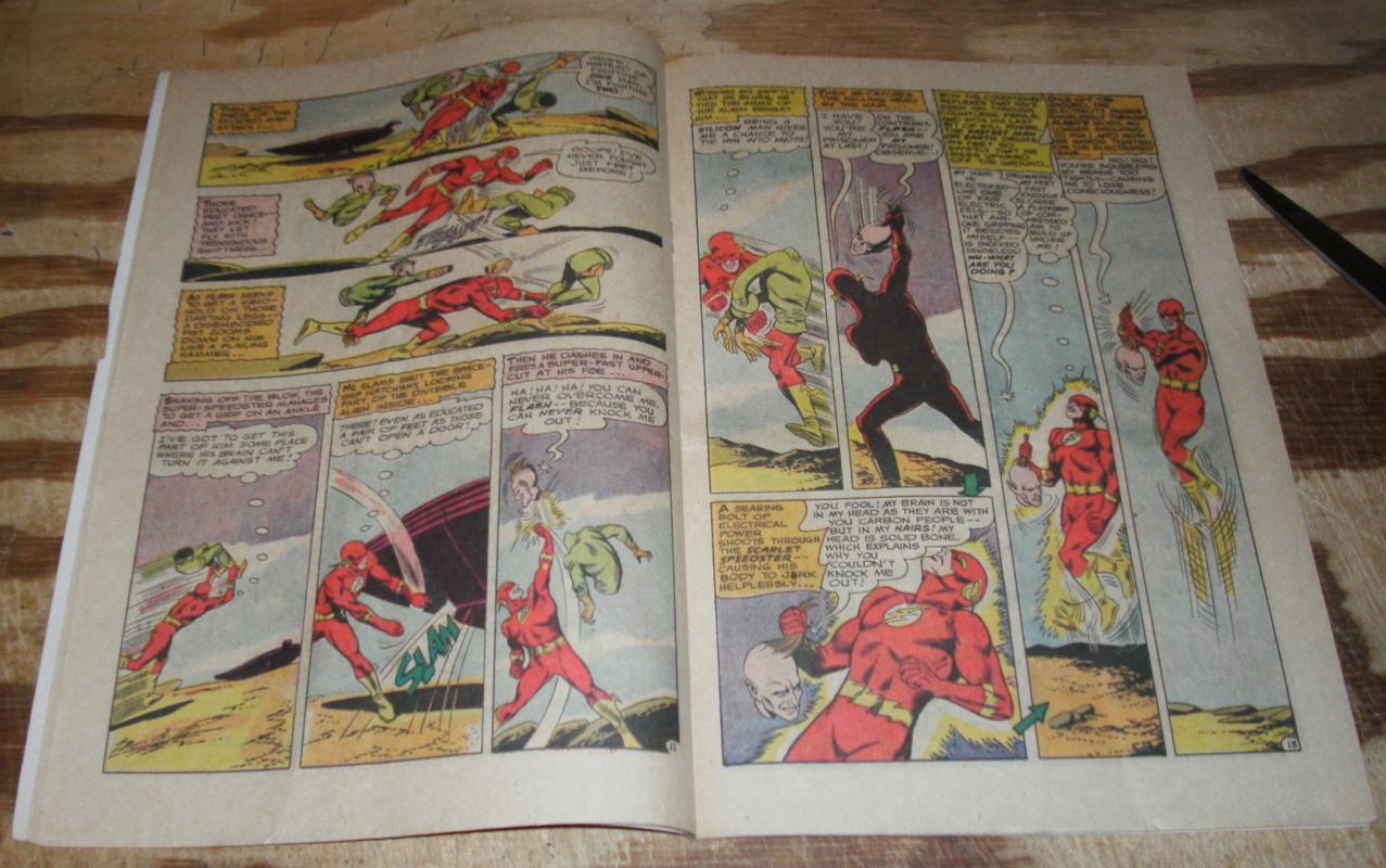 The Flash #158 comic book g/vg 3.0