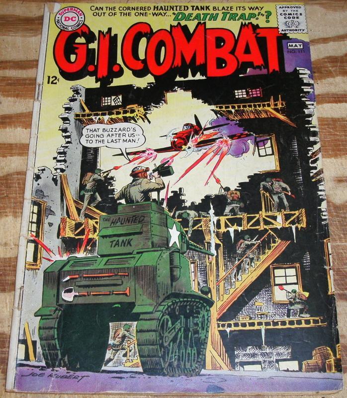G.I. Combat #111  very good 4.0