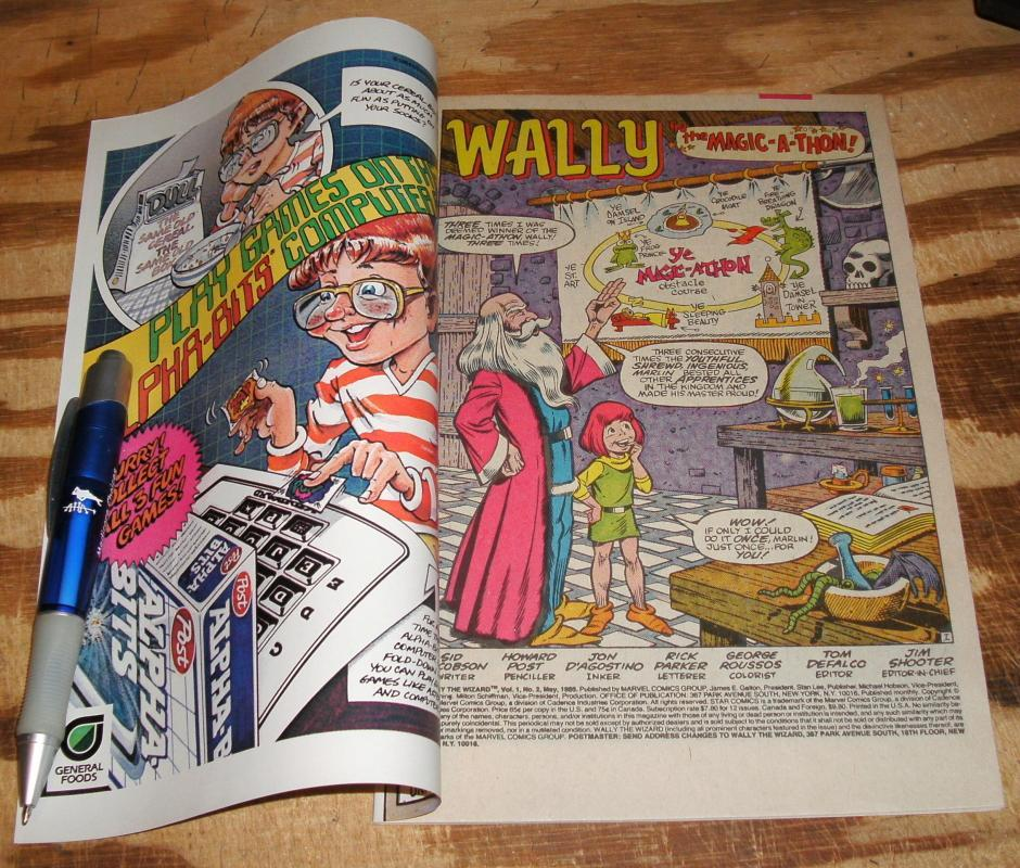 Wally The Wizard #2 near mint/mint 9.8
